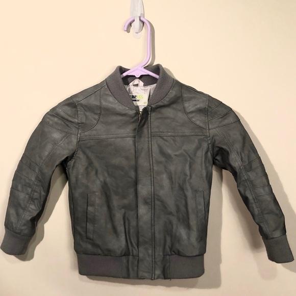 OshKosh B'gosh Other - Boys genuine kids faux leather jacket